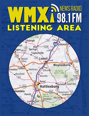 WMXI FM 98.1 - The Voice of the Pine Belt